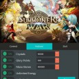Get this new Summoners War Sky Arena Hack (iOS, Android and Mac) Free Unlimited Crystals, Glory, Mana Stones, Arena and Energy No Survey right away from the True-Hacks.com and see […]